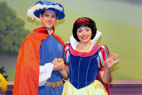 Meeting Snow White and The Prince