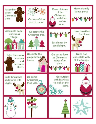 Advent Activities List