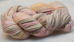 Threshing Floor Love on Merino Twist Worsted - 3.5 oz (...a time to dye)