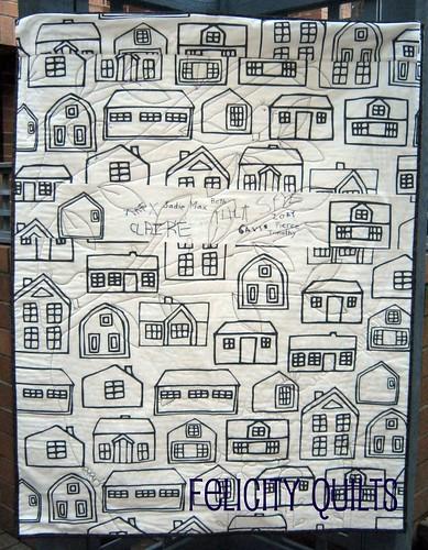 a.m. preschool quilt back