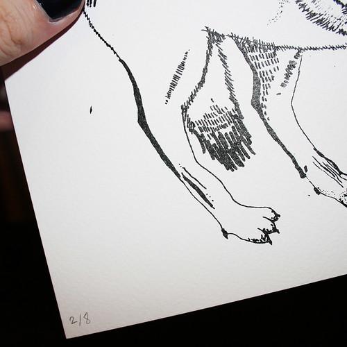 'Wolves' Screenprint