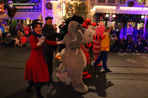 Winnie the Pooh and Mary Poppins