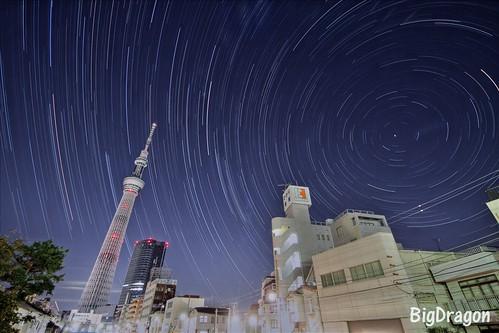 Tokyo Sky Tree VS polestar