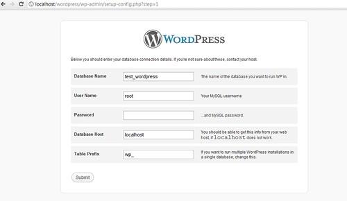 Cài đặt WordPress lên máy tính