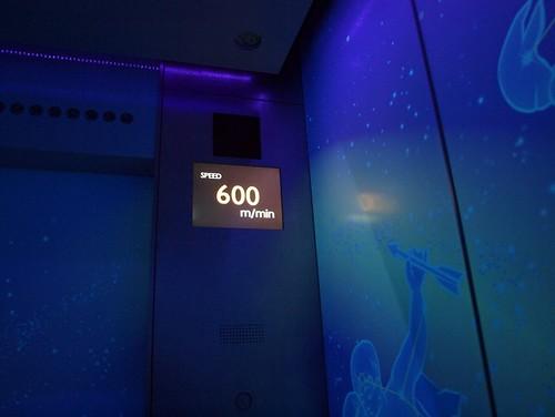 600 m/min