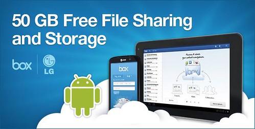 LG 50GB free storage
