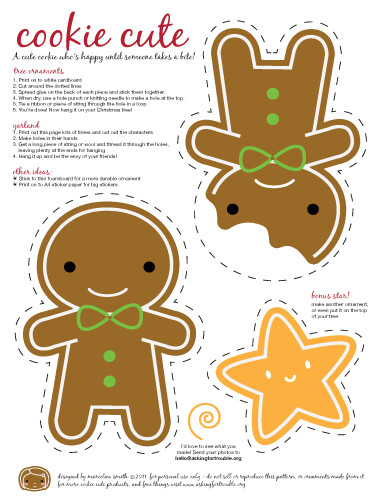 Cookie Cute ornaments