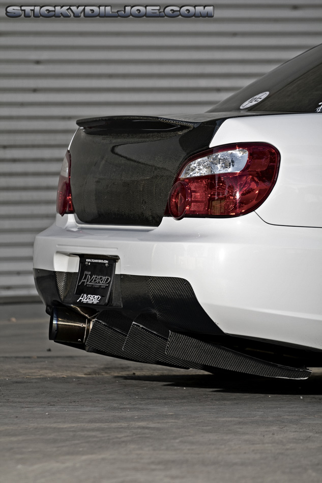 Mature rear diffuser