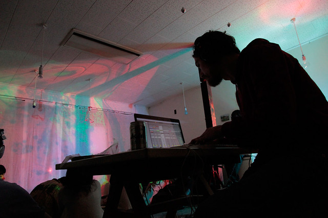 "ieva, Rac_ka & AKITO SENGOKU : LIVE at ""Solaris Vol.04"" -Ambient Music & Video Art Event with Headphone- Denka-House, Kyoto : November 19, 2011"