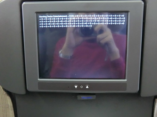 Rebooting on Swiss airplane
