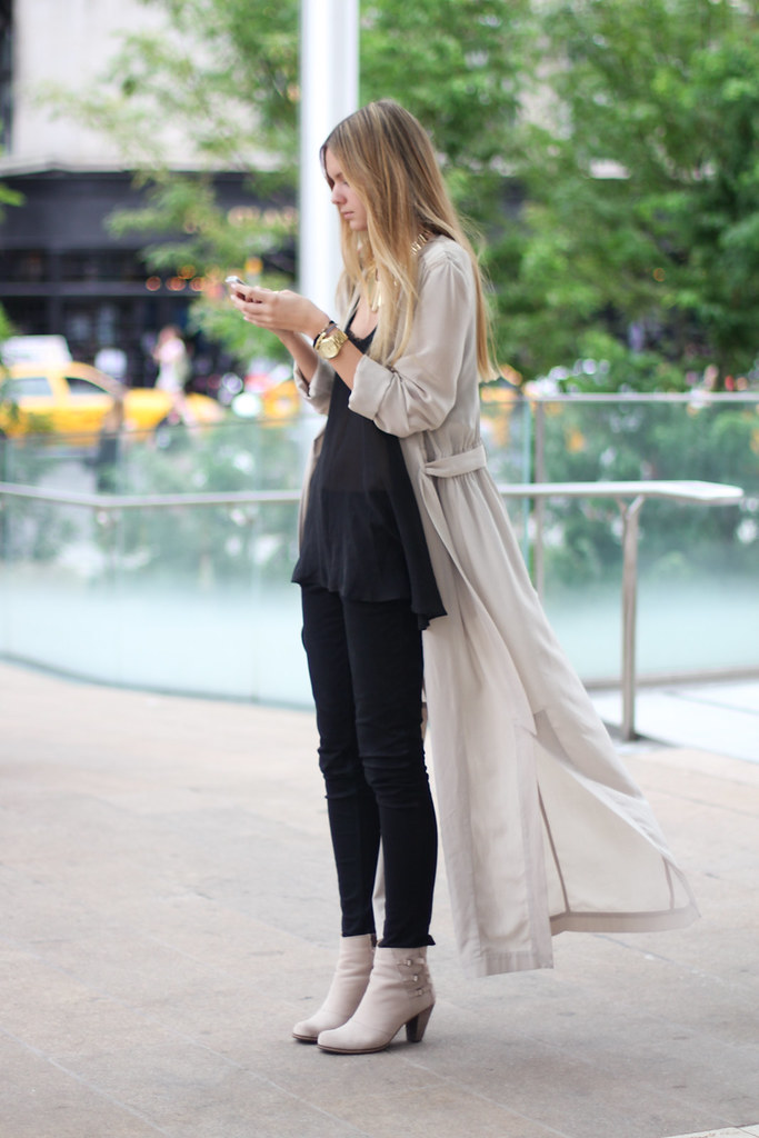 Billowing Coat