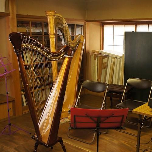 葵ハープ教室