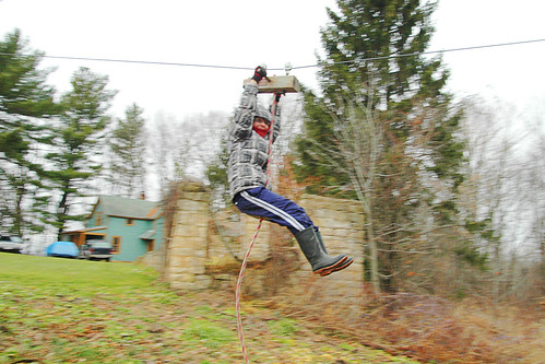 day 2703: a christmas tree hunting and zip line riding we go! IV.