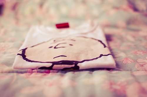 t-shirt charlie brown ♥