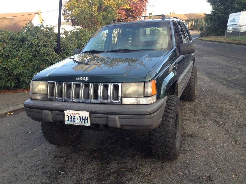 vwvortex - —1993 jeep grand cherokee laredo lifted 33's— make