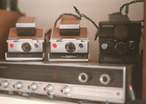 My SX-70s and Stereo