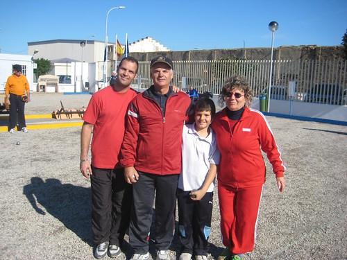 Campeonato de petanca Navidad 2011