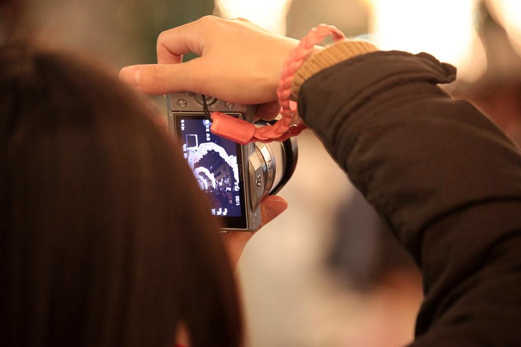 Photographers at Kobe Luminarie 2011