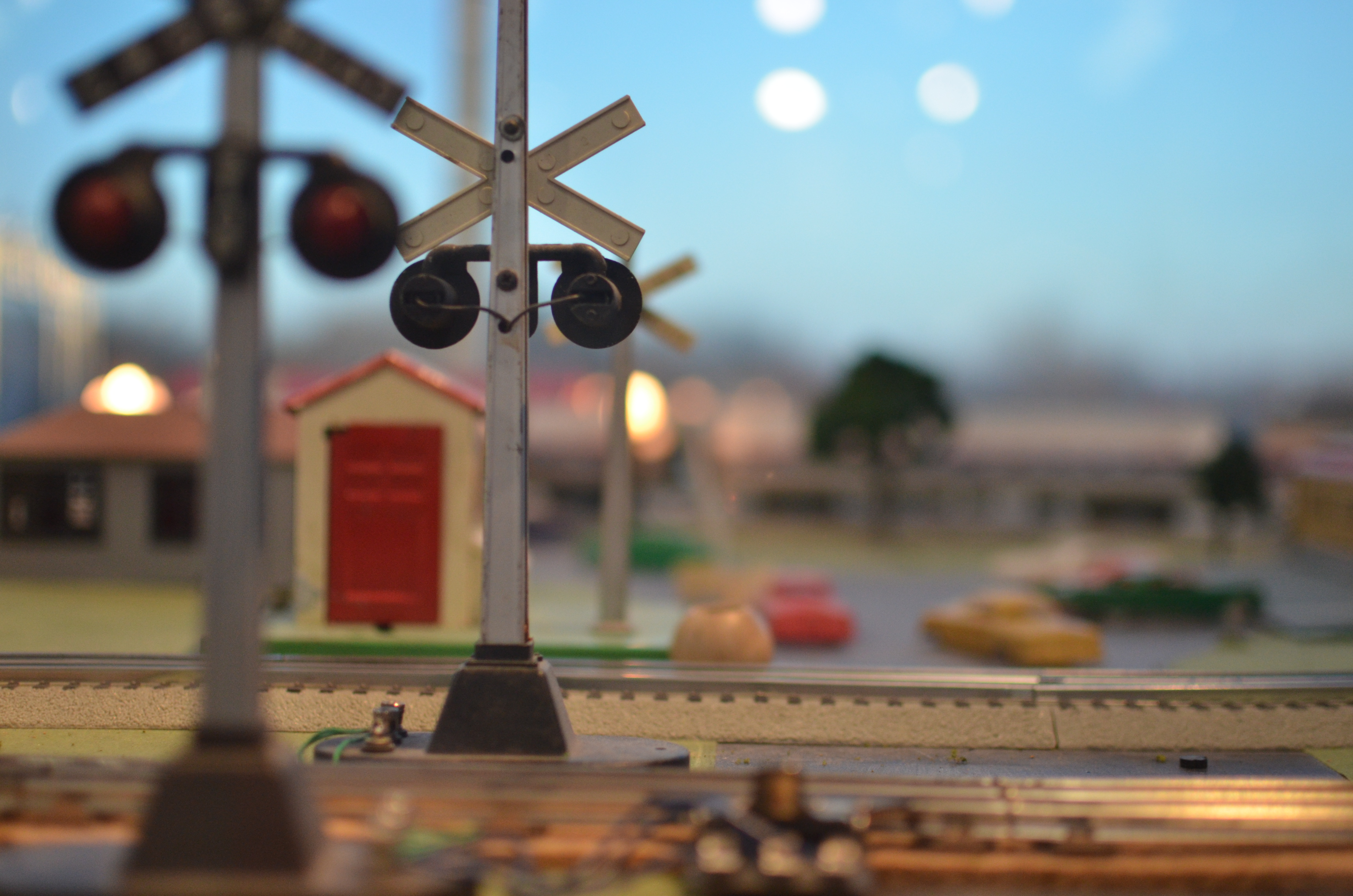 Toy Railroad Crossing | Toy Railroad Crossing | Flickr ...