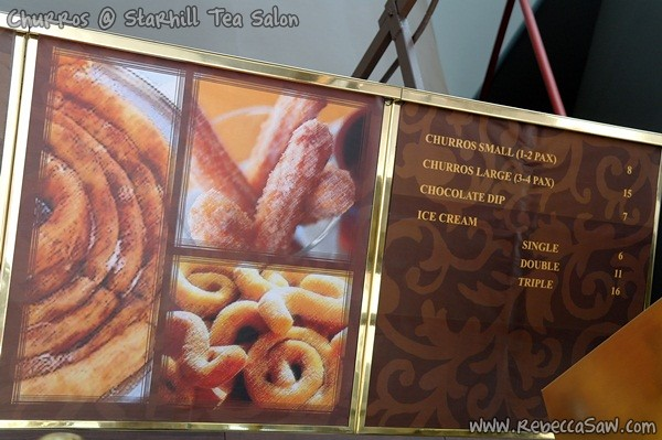 churros @ Starhill Tea Salon-10