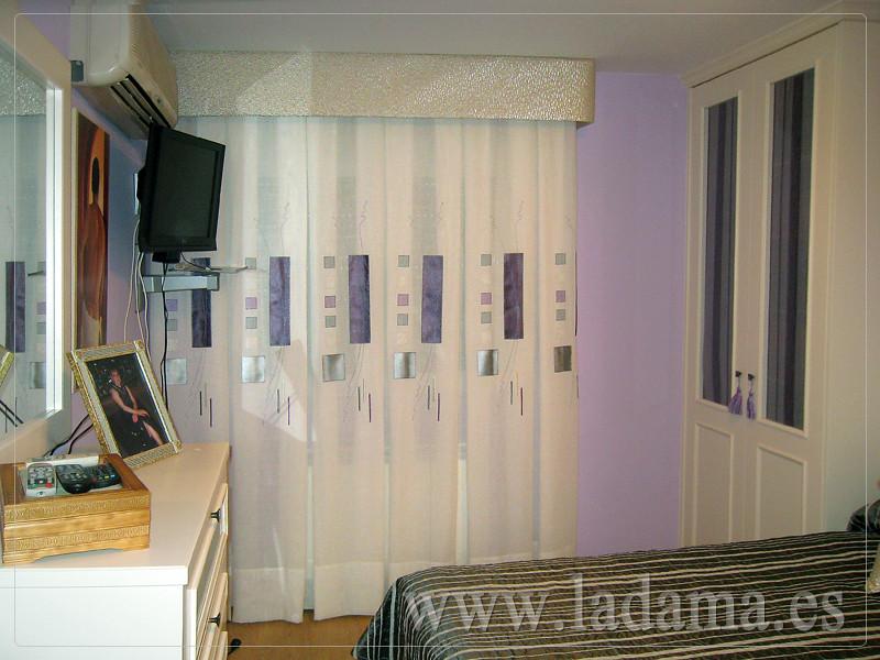 Fotograf as de cortinas modernas la dama decoraci n - Cortinas dormitorio principal ...