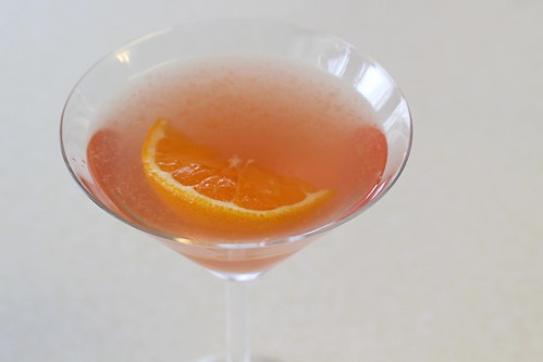 Citrus Blush Martini Drink