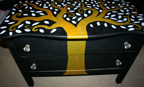 Vintage Dresser Restoration by Rick Cheadle Art and Designs