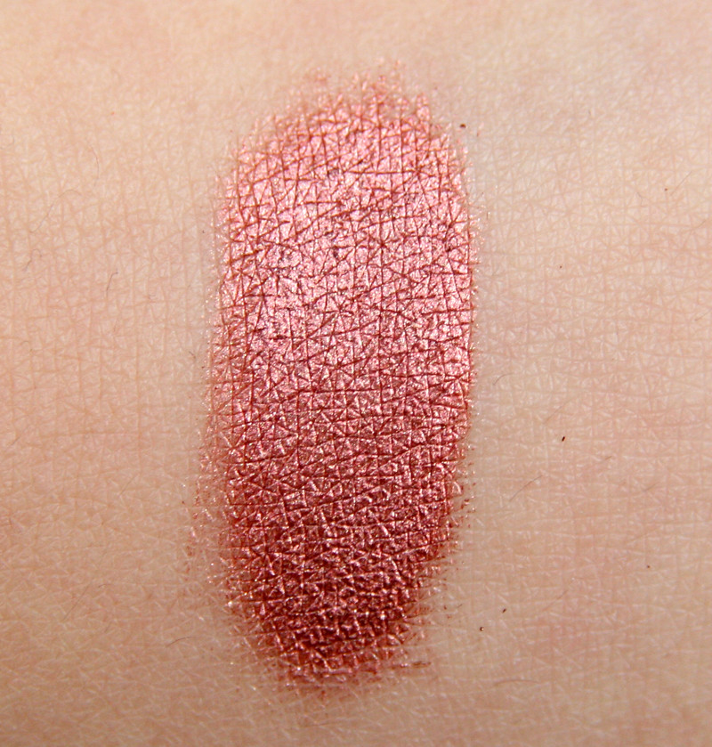 red hot copper swatch