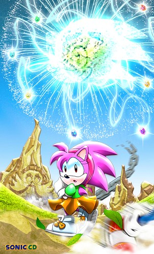 Sterling C - Sonic CD Fan Art Contest US Winner