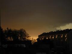 Sombre lumière d'un soir Rennais
