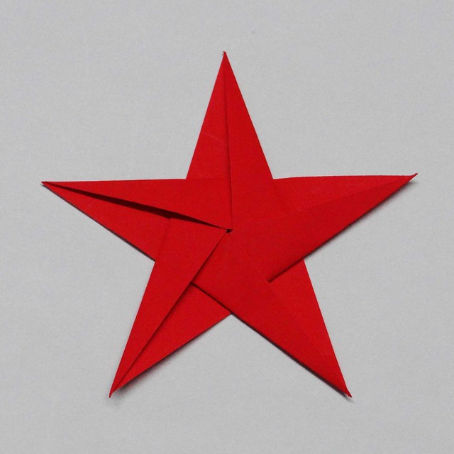 Origami instructions com 8 pointed origami star - Origami Five Point Star Instructions Submited Images