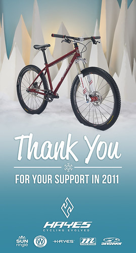 Hayes Components Holiday Thank You