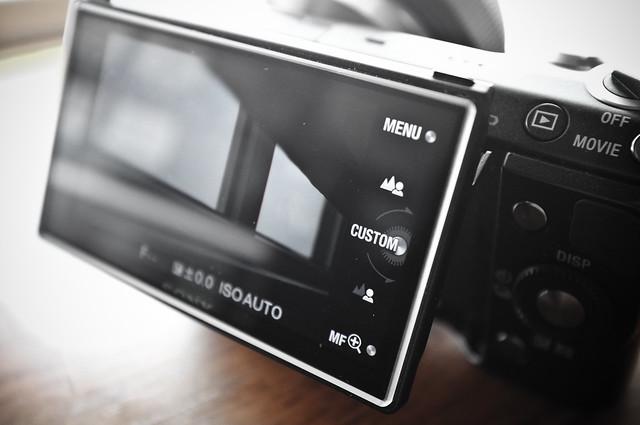 NEX-5N Touchscreen