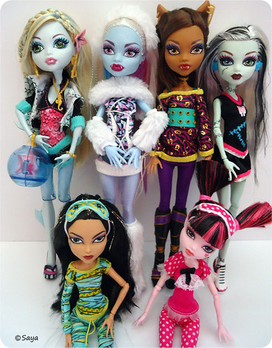 Mis Monster High by tatadelacasa