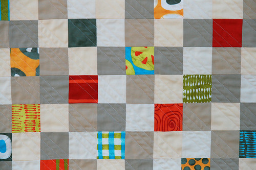 A {Tiny} Stitch in Color quilt