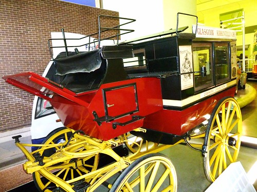 Horse Drawn Station Bus, Riverside Museum