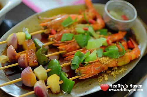 muang thai grilled prawns