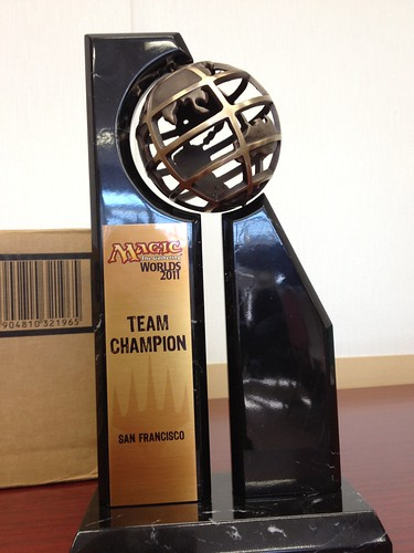 2011 Worlds Team Champion Trophy