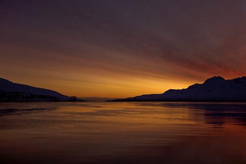 sea sky reflection clouds sunrise iceland ísland ský himinn hafið speglun sólarupprás fáskrúðsfjörður faskrudsfjordur jónínaguðrúnóskarsdóttir