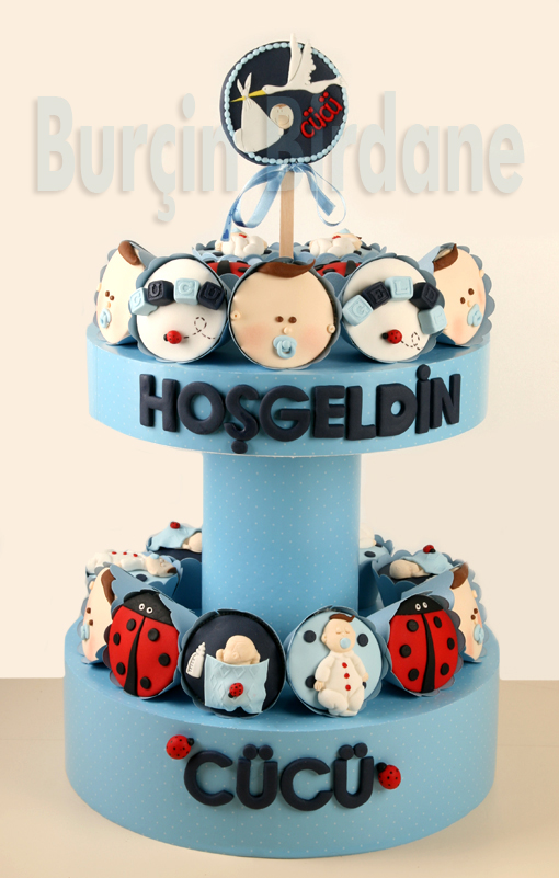Bebek Cupcake stand 1