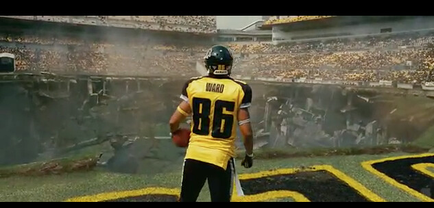 hines ward dark knight rises trailer