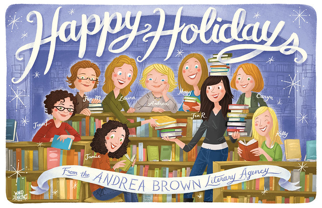 Andrea Brown Literary Agency Holiday Card 2011