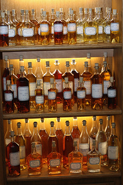 cognac bottles