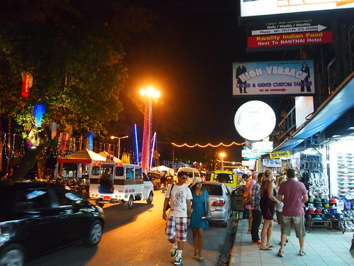 Patong Beach and Town