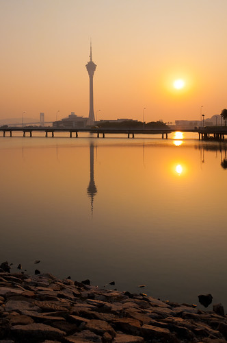 Sunset in Macau