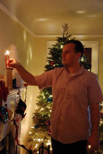 Em's first Hanukkah