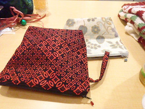 Xmas project bag for Katy
