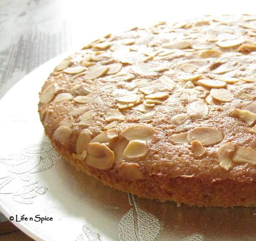 Almond Olive Oil Cake - Torta di Mandorla