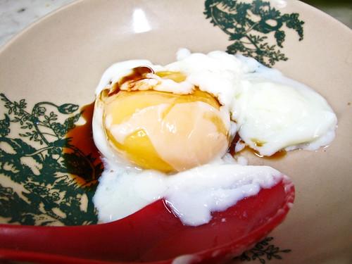 IMG_0540 Half boiled egg, 生熟蛋