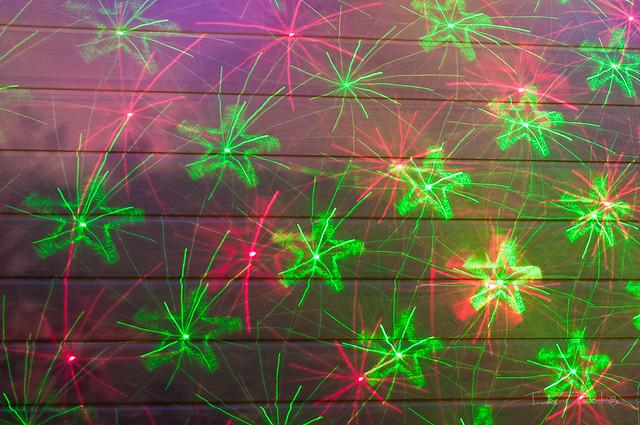 Week 51 - Christmas Laser Lights | Flickr - Photo Sharing!